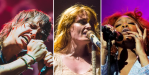 The Strokes (Debi Del Grande), Florence + The Machine (Lior Phillips), and SZA (wire)