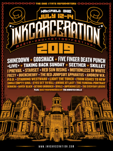 Inkcarceration 2019 poster