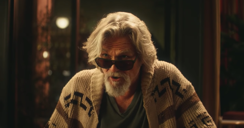 Jeff Bridges as The Dude