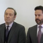 Kevin Spacey in court