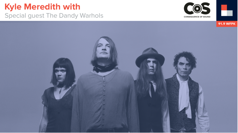 kyle meredith with the dandy warhols