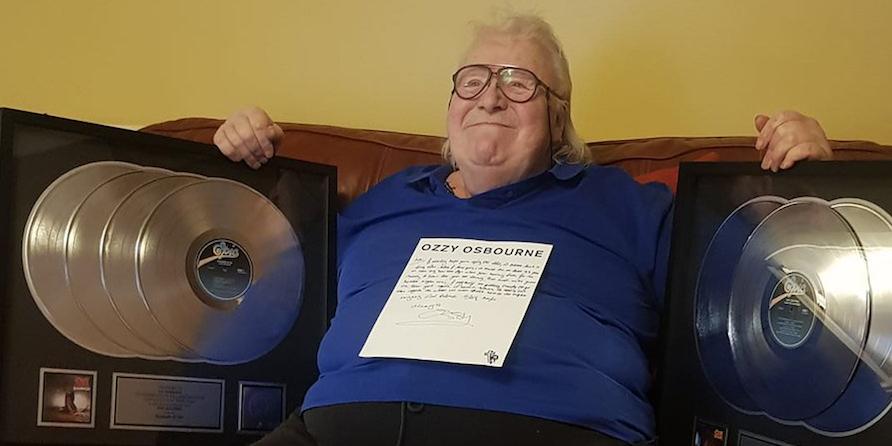 Ozzy Osbourne sends terminally ill former bandmate long-awaited platinum records