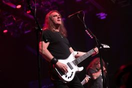 David Ellefson performs with Metal Allegiance
