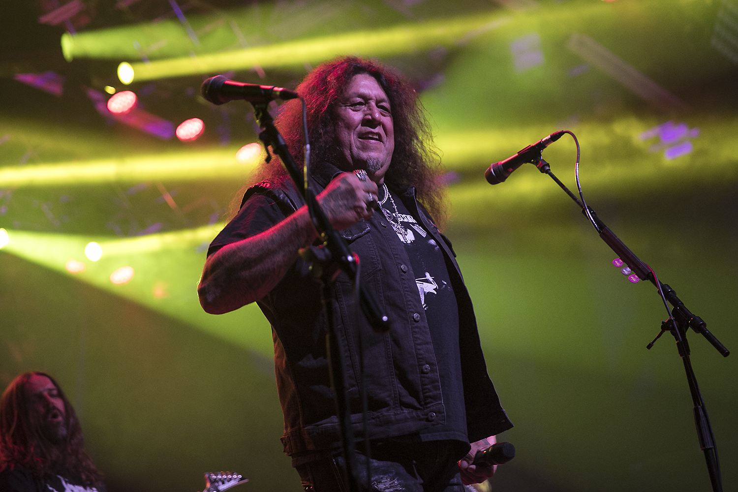 Chuck Billy performs with Metal Allegiance
