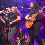 Metal Allegiance perform in Anaheim