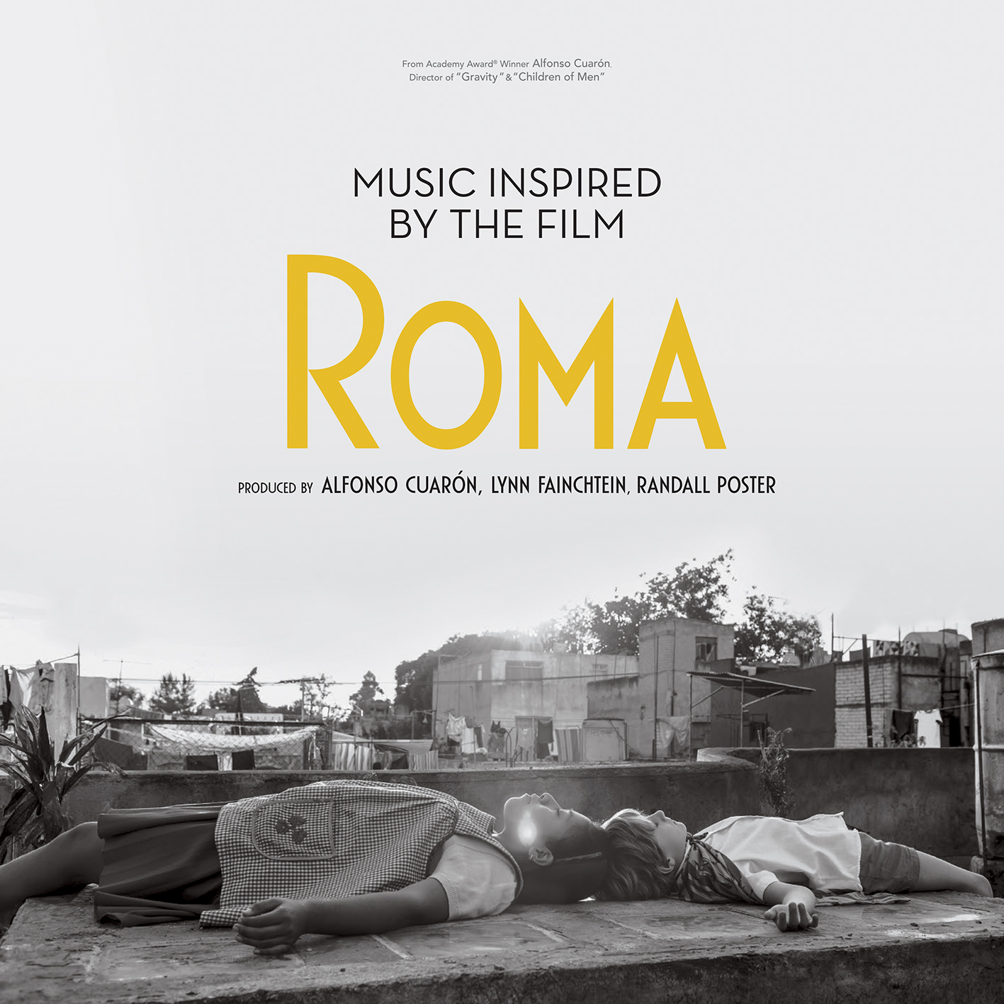 music inspired by the film romaalbum cover artwork