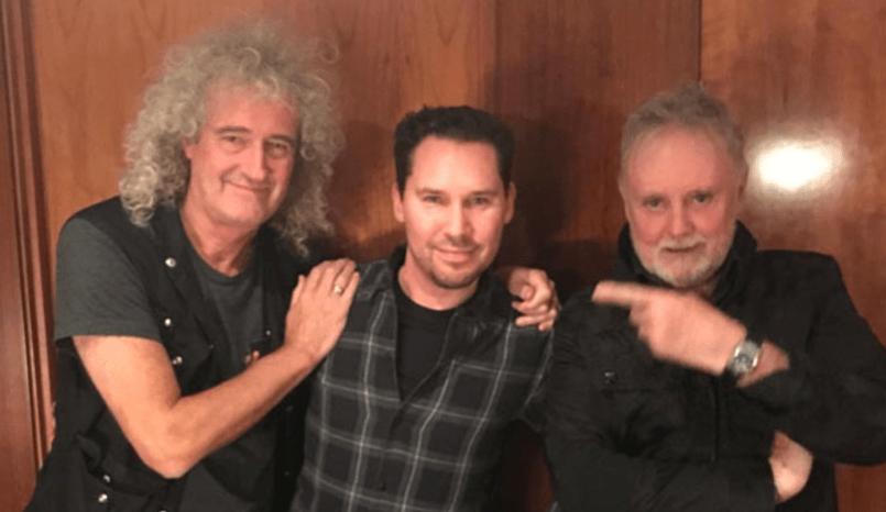 Queen with Bryan Singer
