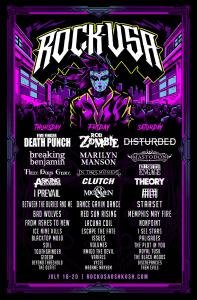 Rock USA 2019 Poster