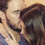 Chris Pratt and Katherine Schwarzenegger, photo via Instagram