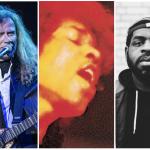 Dave Mustaine, Jimi Hendrix, Hanif Abdurraqib, David Brendan Hall, Andrew Cenci, Classic Rock