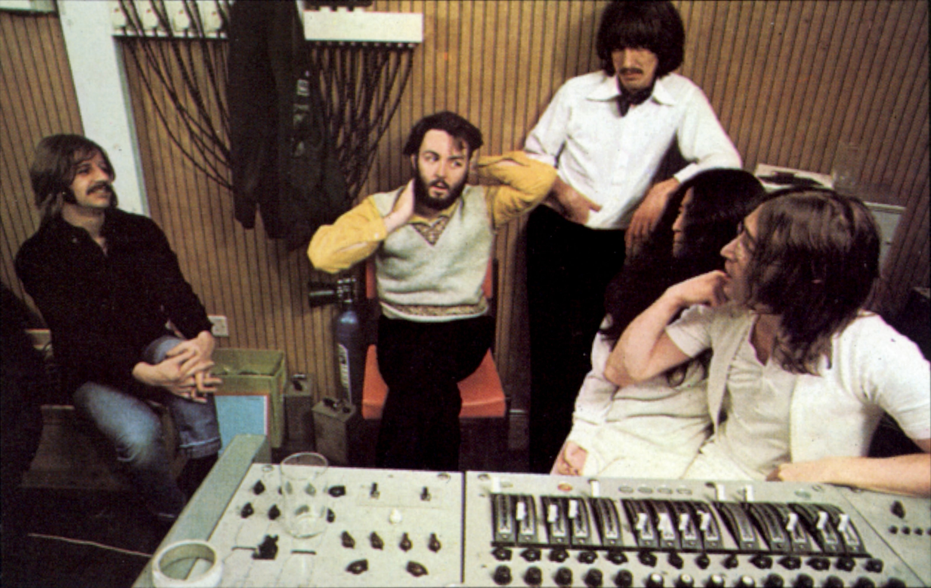 The Beatles recording Let it Be