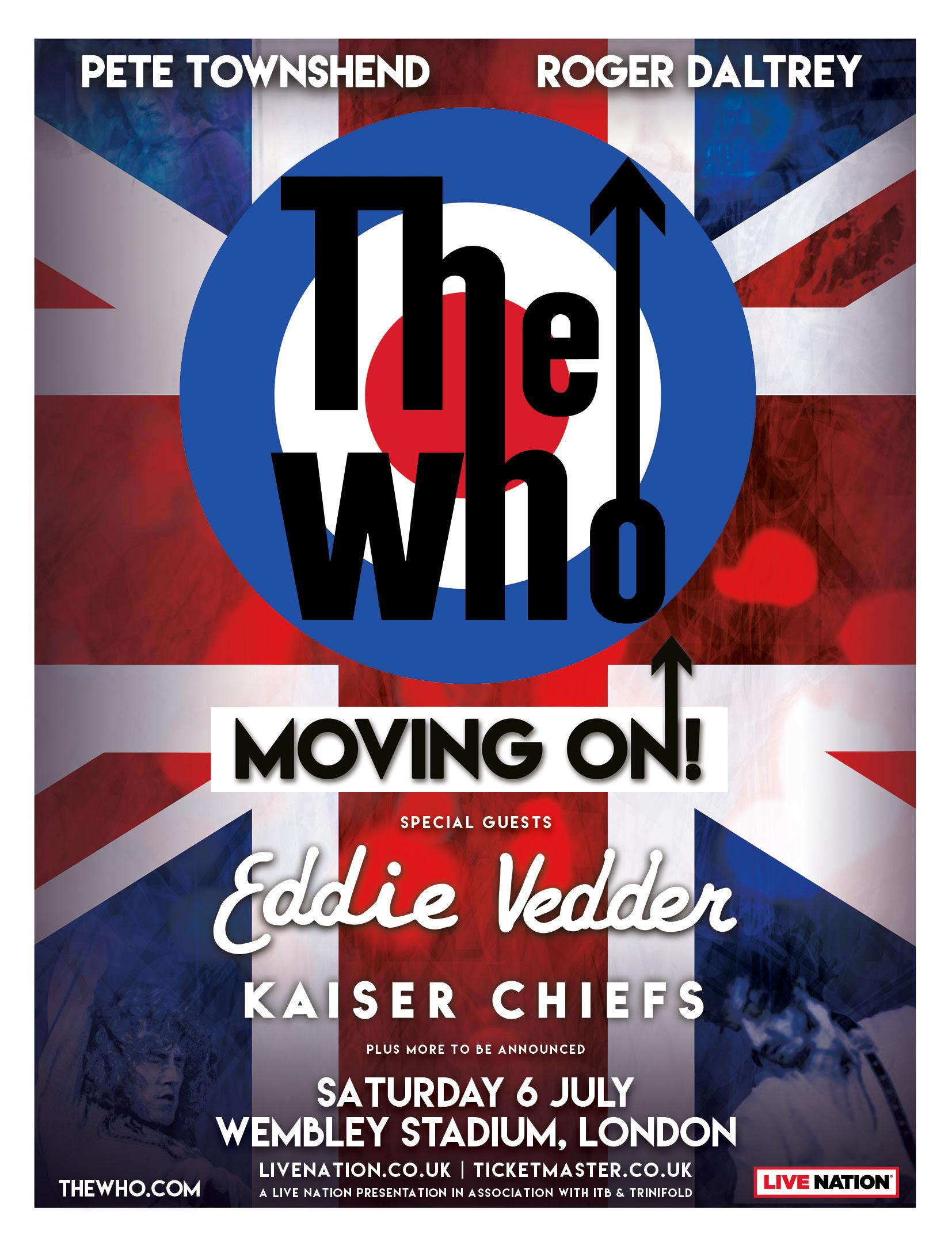 the who eddie vedder