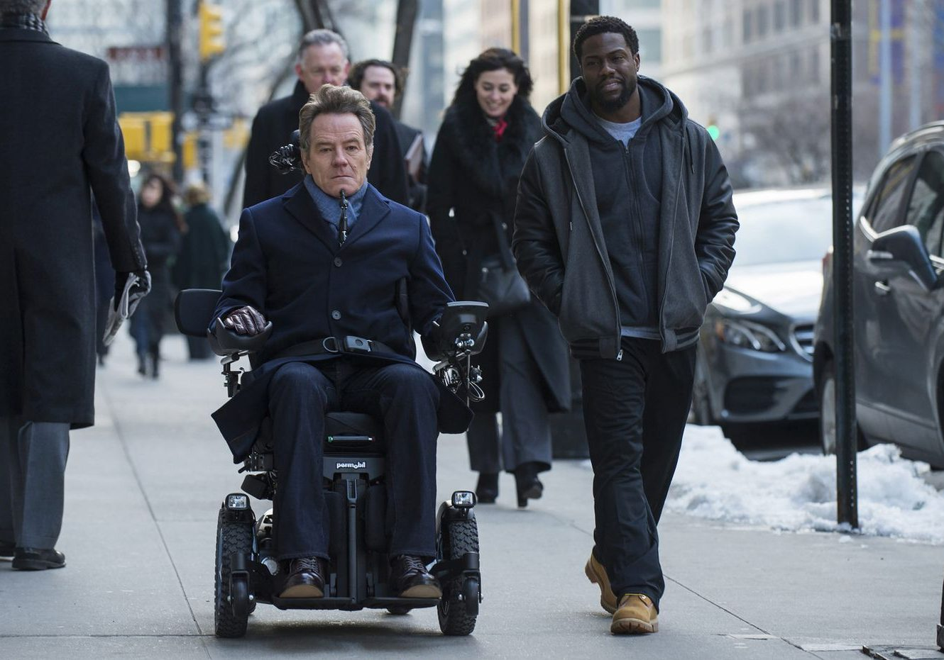 the upside kevin hart bryan cranston