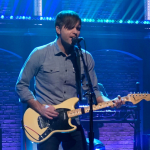 "Video Death Cab for Cutie performing ""Northern Lights"" Seth Meyers TV"