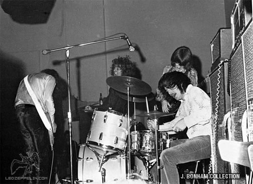 1969 01 boston jb photo3 Remembering the Boston Show That Prophesized the Rise of Led Zeppelin