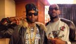 2 Chainz and LeBron James