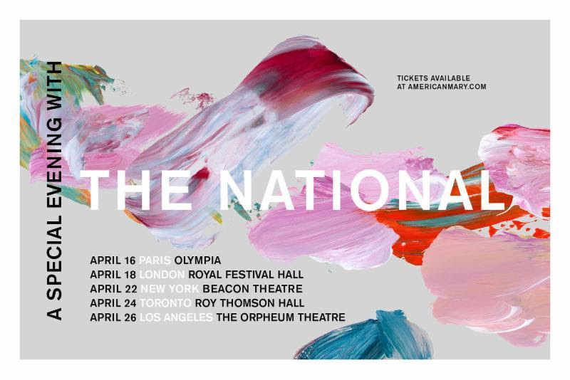 a special evening with the national tour 2019 admat poster