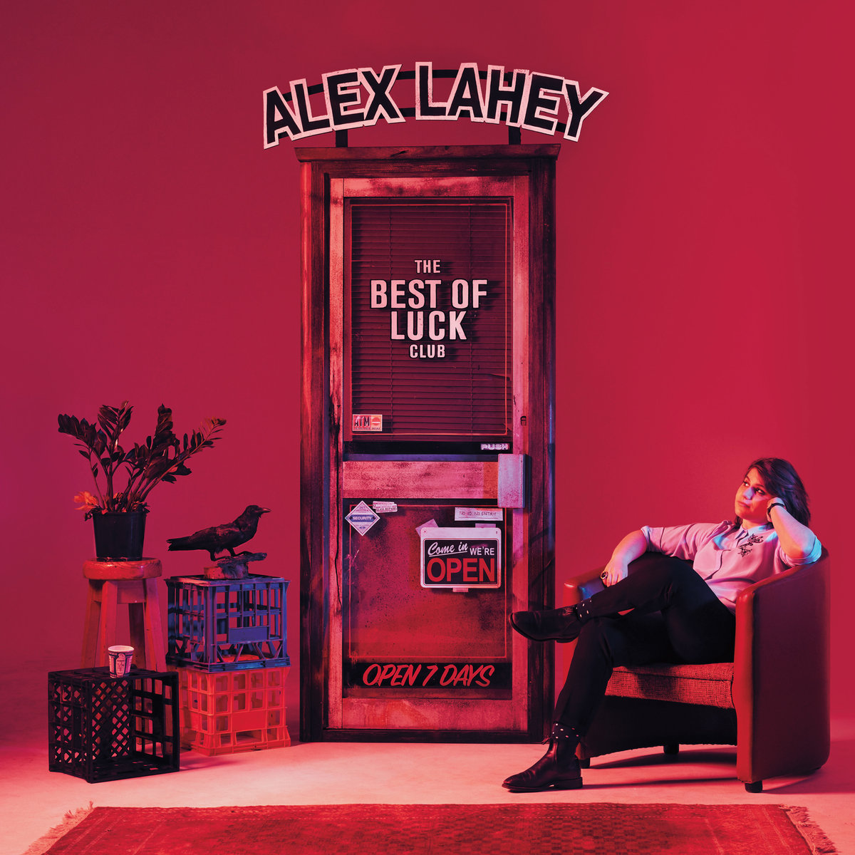 Alex Lehay the best of luck club album cover artwork