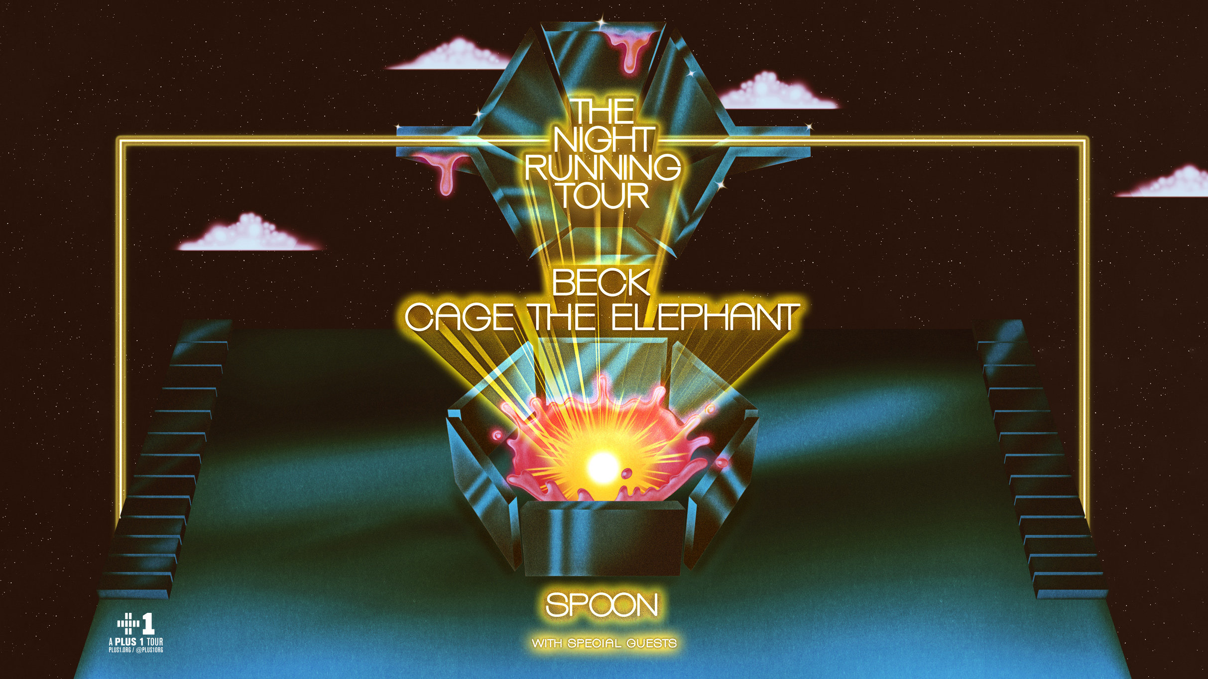 Beck, Cage the Elephant and Spoon tour