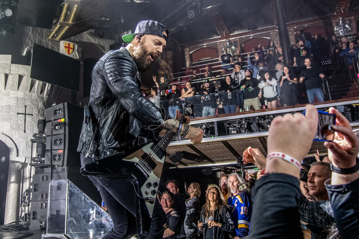 Bullet for My Valentine at ShipRocked 2019