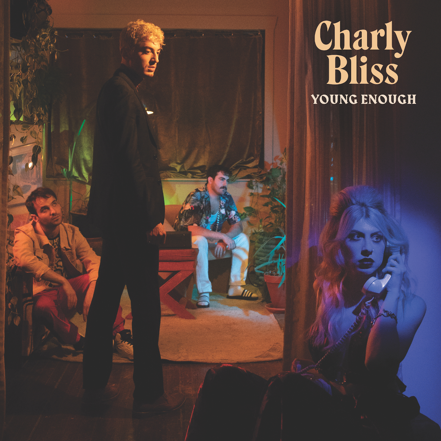 Charly Bliss Young Enough Album Cover Artwork