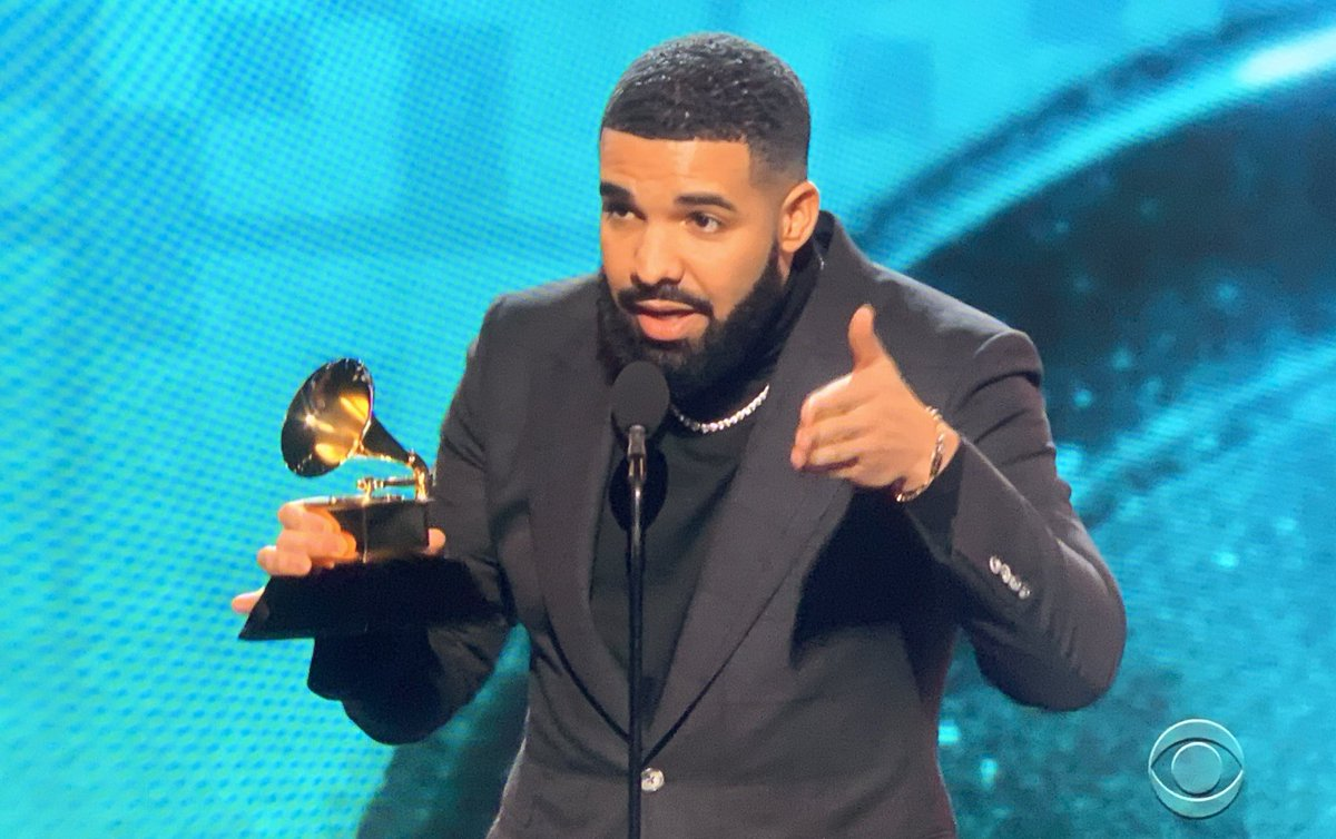 Drake gets cut off at Grammys