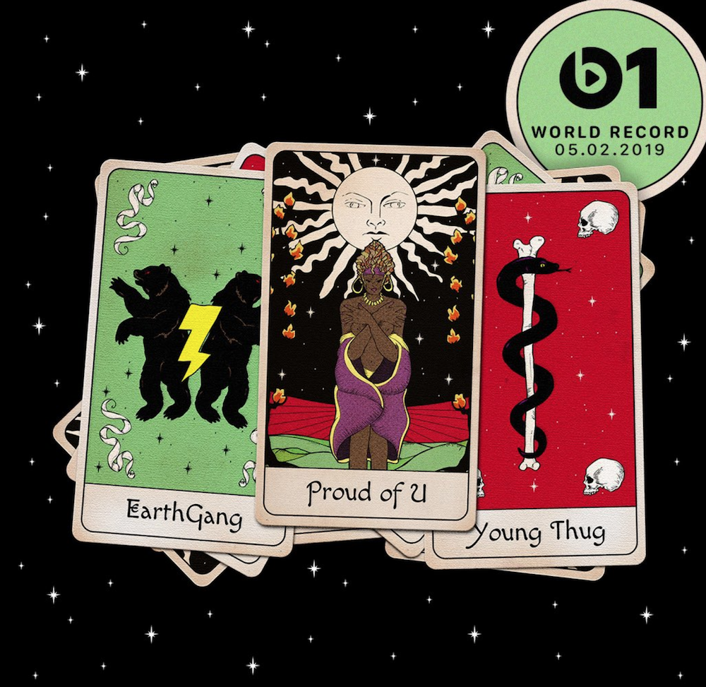 "Earthgang young thug ""proud of u"" single cover artwork"