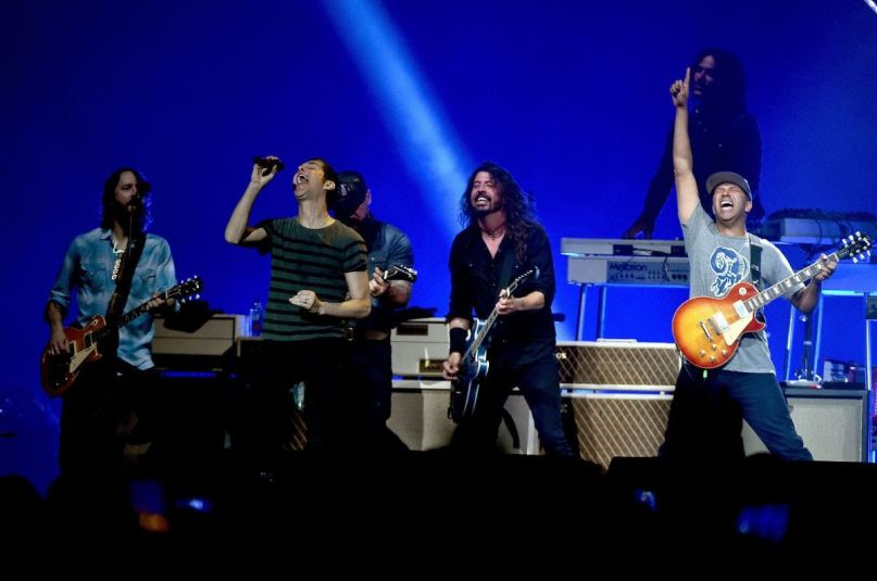 Foo Fighters with Perry Farrell, Tom Morello, and Zac Brown