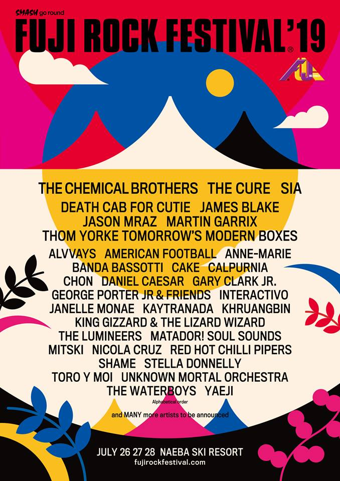 Rock 2019: The Cure, Thom Yorke, Chemical Brothers to