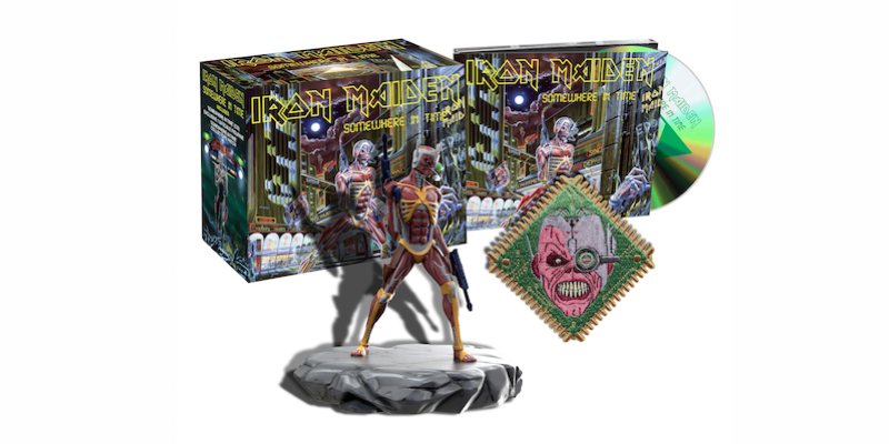 Iron Maiden Somewhere in Time Deluxe Digipak
