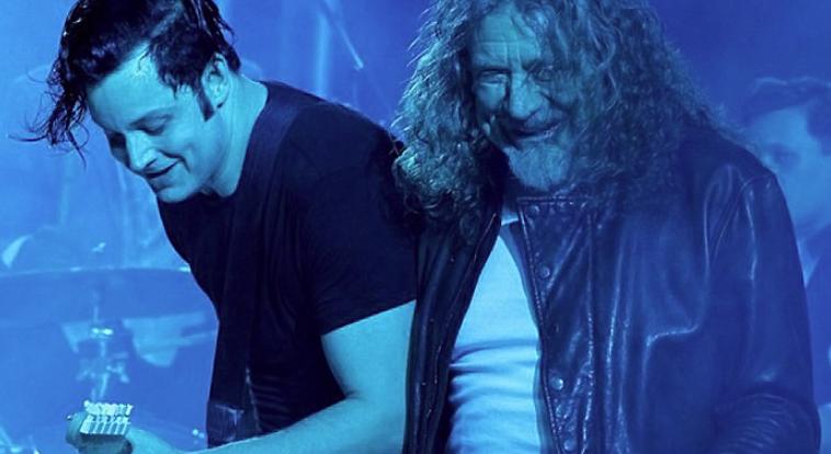 Jack White and Led Zeppelin's Robert Plant