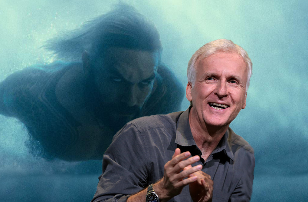 James Cameron serves backhanded compliment to Aquaman for