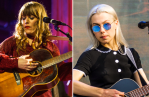 Jenny Lewis (Philip Cosores) and Phoebe Bridgers (Amanda Koellner)