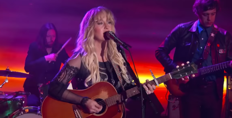 Jimmy Kimmel Live Margo Price Cocaine Cowboys Loner performance video