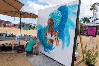 KAABOO Cayman art, photo by Ben Kaye