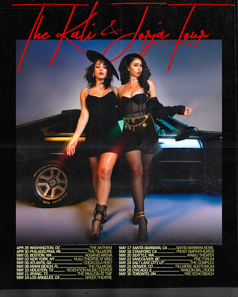 Kali Uchis Jorja Smith tour