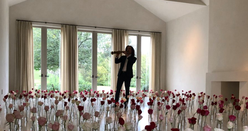 Kenny G, held hostage at Kim and Kanye's house