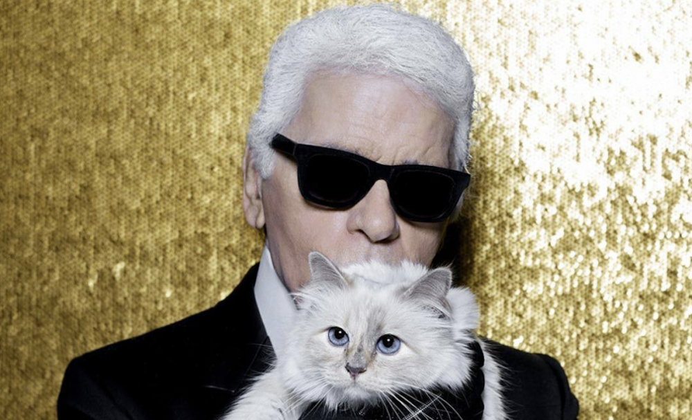 Karl Lagerfeld's cat, Choupette, inherits portion of fashion