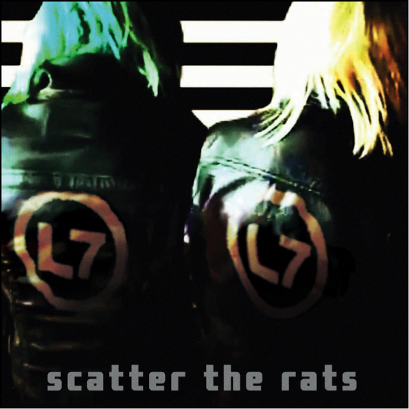 l7 scatter the rats album artwork