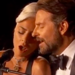 "Lady Gaga and Bradley Cooper performing ""Shallow"" at Oscars"