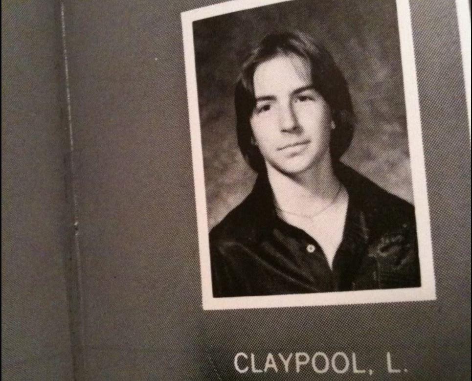 Les Claypool - Yearbook Photo