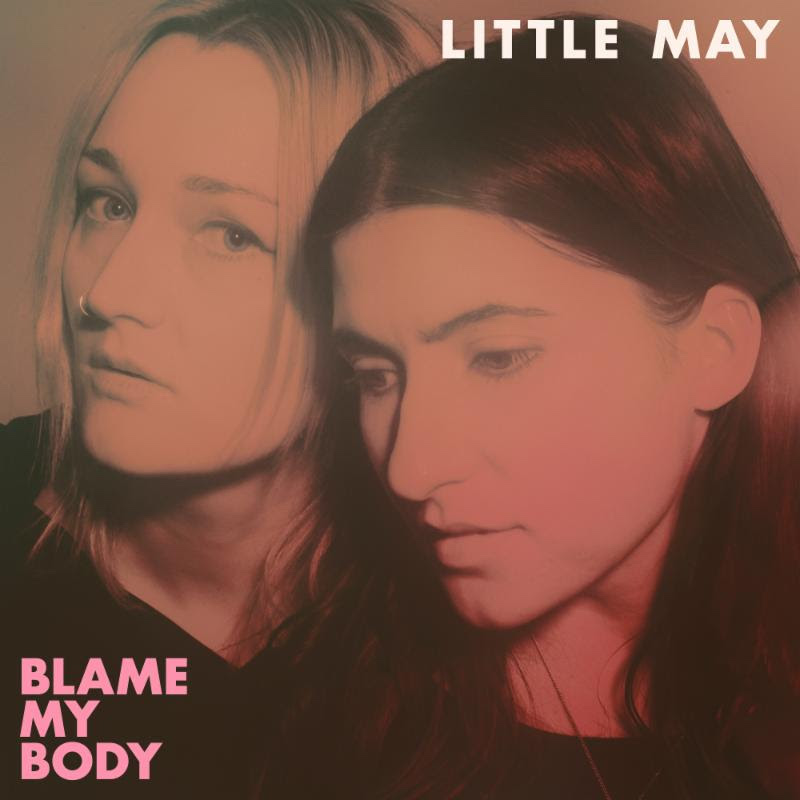 little may blame my body new album cover artwork