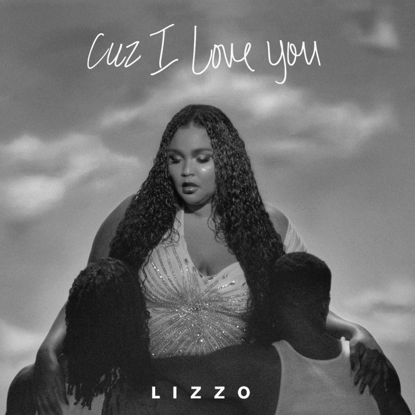 Lizzo's artwork for Cuz I Love You