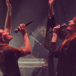 Maggie Rogers Florence Welch London 2019 Brixton 02 Academy Light On Collaboration Live