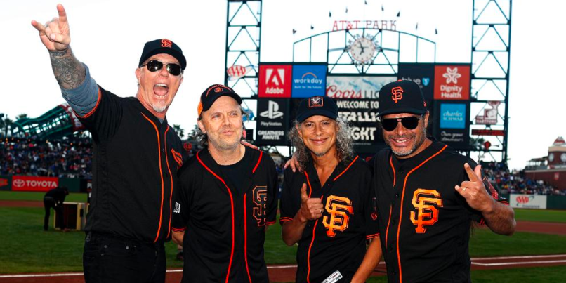 Metallica and San Francisco Giants teaming up for seventh