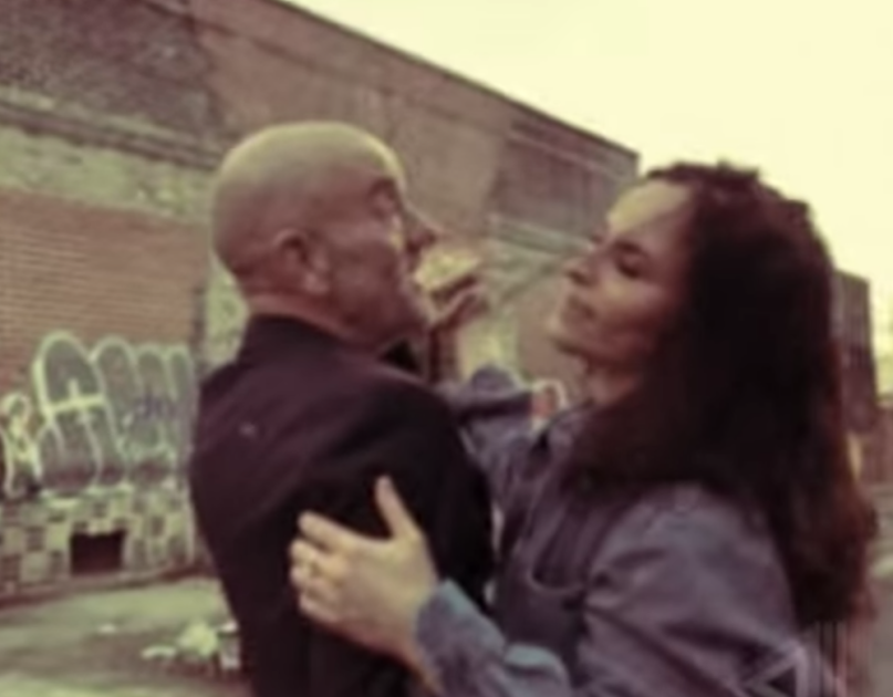 "Michael Stipe Rain Phoenix ""Time is the Killer"" song video collaboration"