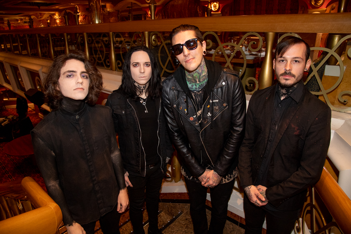 Motionless in White at ShipRocked 2019