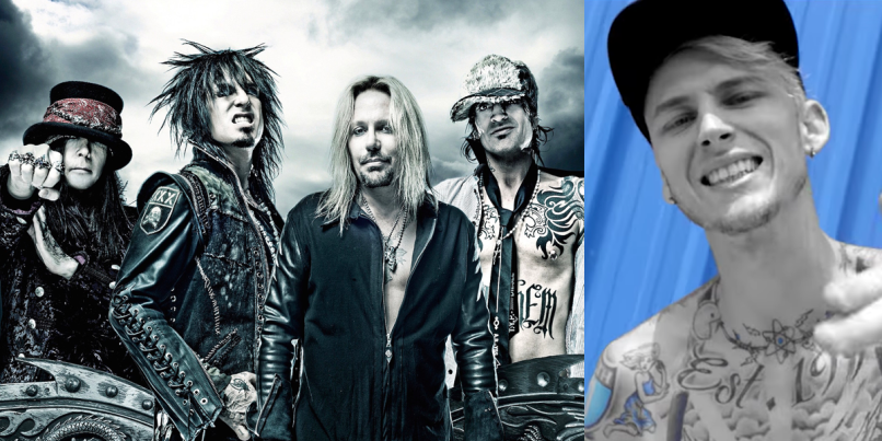 Motley Crue and Machine Gun Kelly