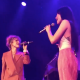 """Hayley Williams Kacey Musgraves cover Cyndi Lauper """"Girls Just Wanna Have Fun"""" Nashville concert video"""