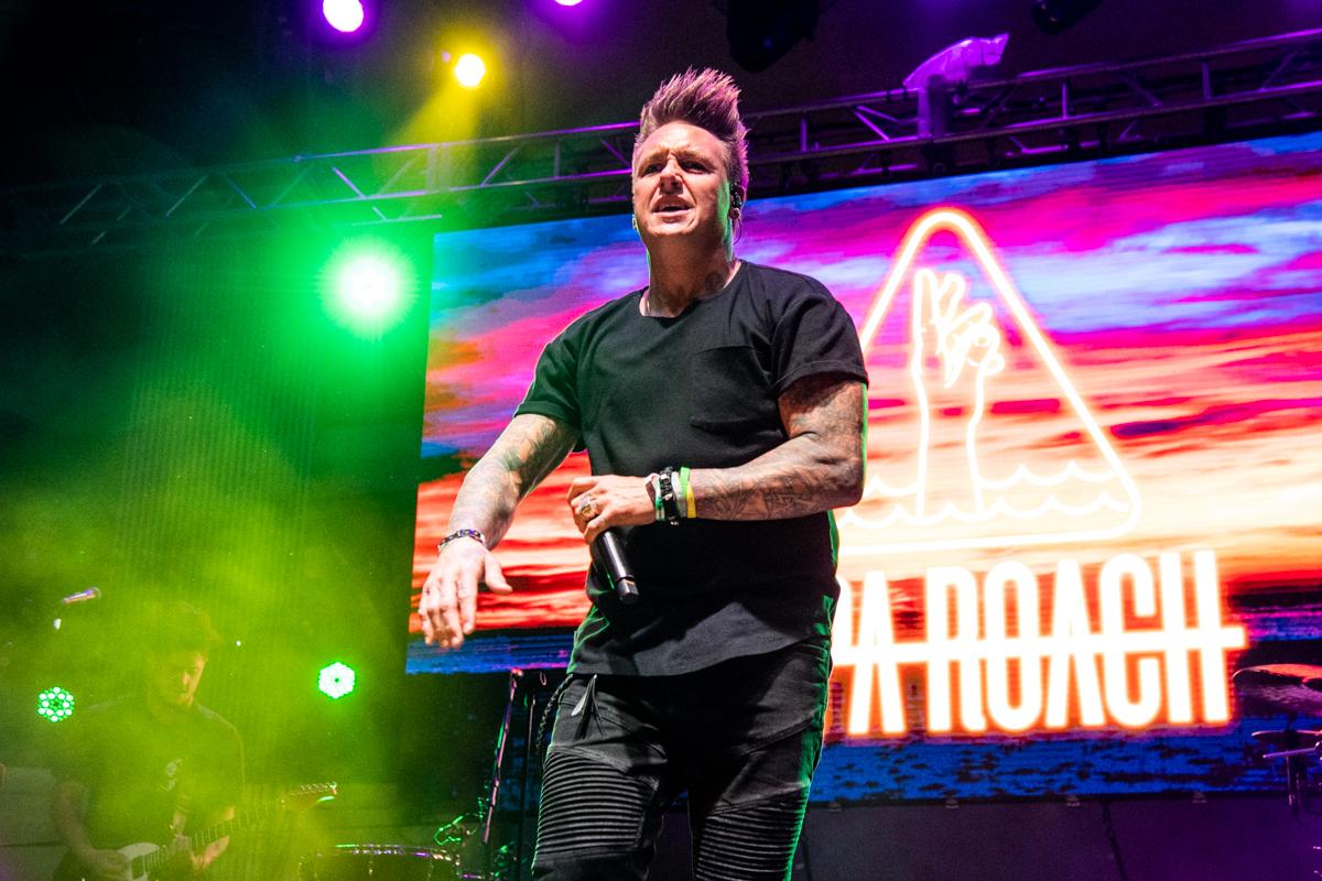 Papa Roach at ShipRocked 2019